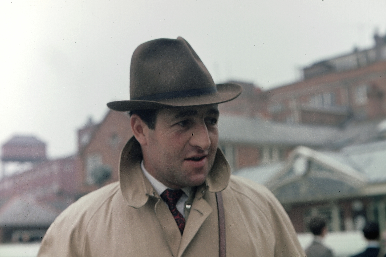 Dick Hern (20th January 1921 - 22nd May 2002) - Famous UK Race Horse Trainer,  picture circa 1969. horse racing collectables