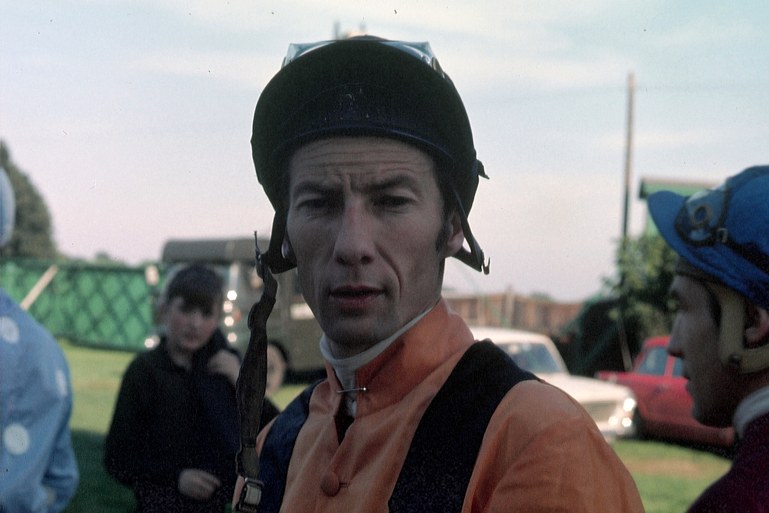 Lestor Piggott - UK Champion Jockey - picture taken circa 1969. horse racing collectables