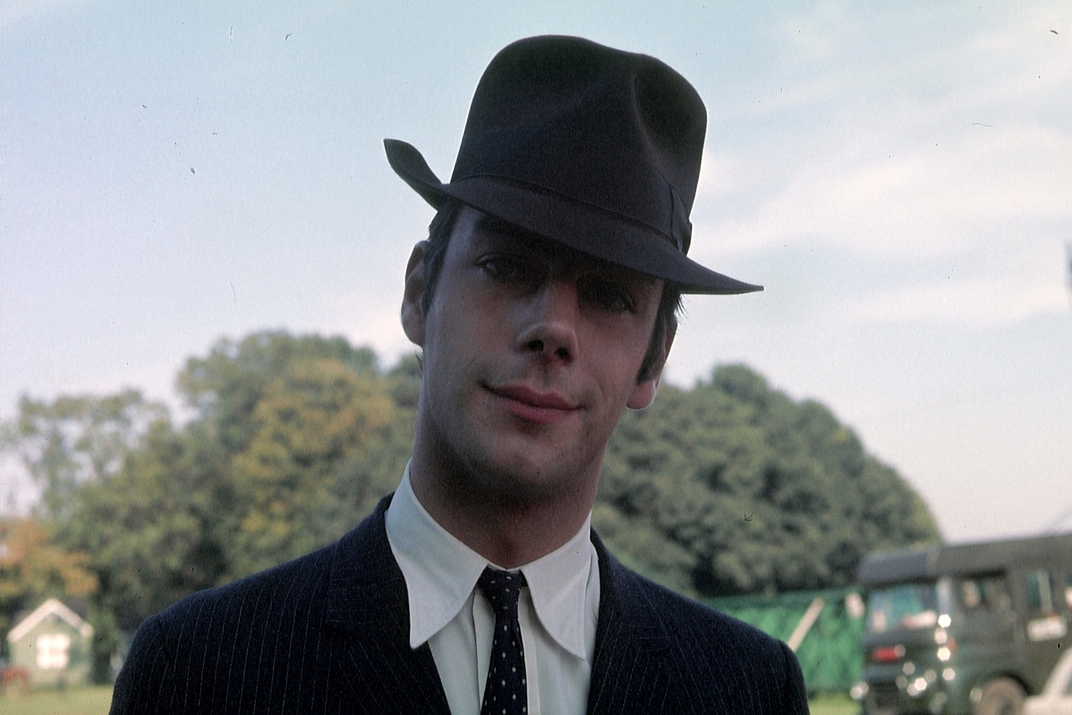 Sir Henry Cecil - Famous UK Race Horse Trainer - picture taken, circa 1969,  by the professional photographer, the late, Leonard Robert Anslow. horse racing collectables.